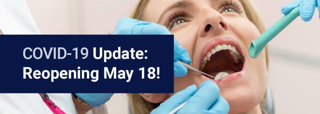 Reopening May 18