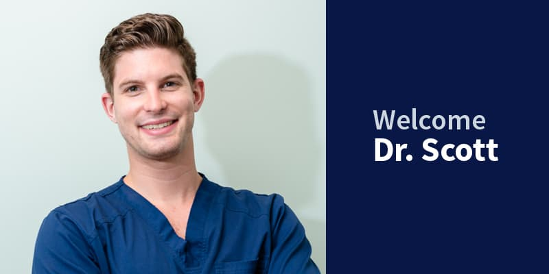 Welcome Dr. Scott